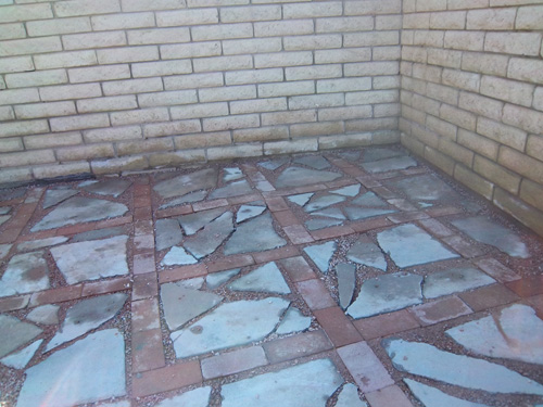 Recycled Concrete Pavers Create Everyday