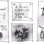 bw gift tags