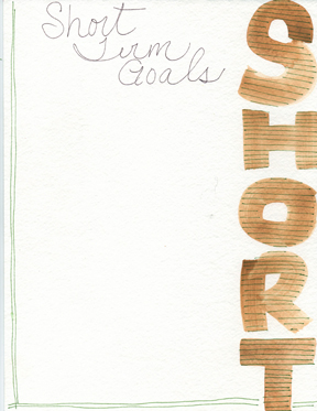 LOW RES Short Term Goals Sheet