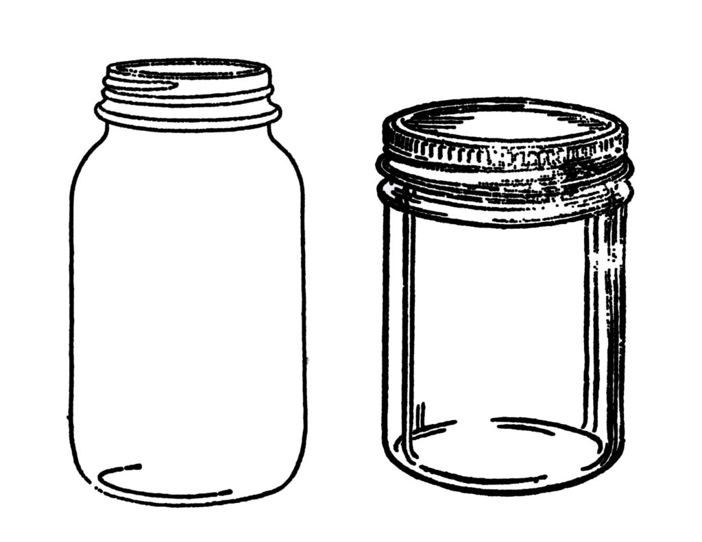 Mason Jar Image File