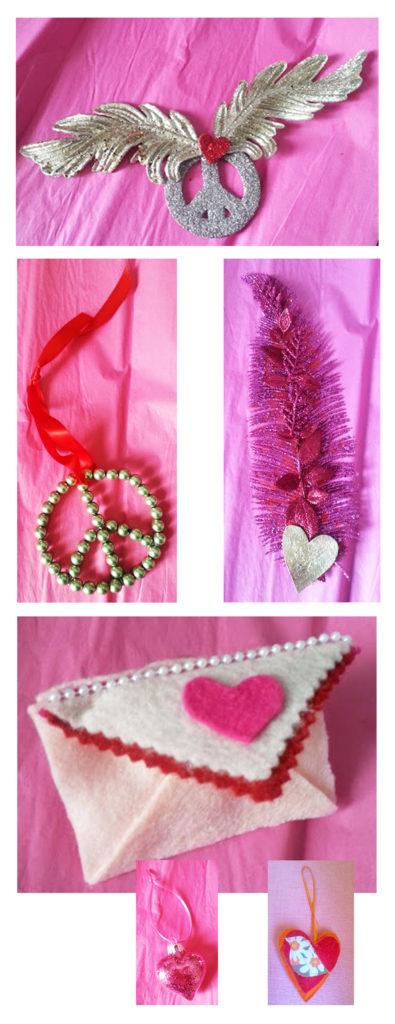 Vday ornaments